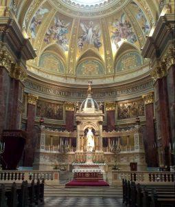 Intérieur de la basilique St Stephen, Budapest