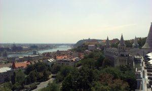 Vue sur la ville du bastion des pêcheurs